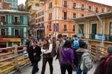 Av-Perez-Velasco;Bolivia;Bolivian;Bolivians;bridge;bridges;capital;Capital-of-Bolivia;Chuqi-Yapu;cities;city;foot-bridge;foot-bridges;footbridge;footbridges;La-Paz;Latin-America;Nuestra-Señora-de-La-Paz;pedestrian;pedestrian-bridge;pedestrian-bridges;pedestrians;people;person;South-America;Sth-America;The-Americas