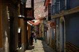 alley;alleys;alleyway;Bolivia;building;buildings;Calle-Jaen;capital;Capital-of-Bolivia;Chuqi-Yapu;cities;city;cobble-stone-streets;cobble_stoned;cobblestone;cobblestoned;cobblestones;heritage;historic;historic-building;historic-buildings;historical;historical-building;historical-buildings;history;La-Paz;Latin-America;Llama-Market;Llamas-market;narrow;narrow-street;narrow-streets;Nuestra-Señora-de-La-Paz;old;pedestrians;people;person;Qawra-Cancha;South-America;steep;steep-street;steep-streets;Sth-America;The-Americas;tradition;traditional