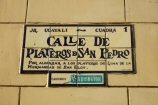Calle-de-Plateros-de-San-Pedro;Historic-centre-of-Lima;historic-sign;historic-signs;Latin-America;Lima;old-sign;old-signs;Peru;Republic-of-Peru;road-sign;road-signs;sign;signs;Silver-Street;Silversmiths-Street;South-America;Sth-America;Street-of-Silver;Street-of-Silversmiths;street-sign;street-signs;UN-world-heritage-area;UN-world-heritage-site;UNESCO-World-Heritage-area;UNESCO-World-Heritage-Site;united-nations-world-heritage-area;united-nations-world-heritage-site;world-heritage;world-heritage-area;world-heritage-areas;World-Heritage-Park;World-Heritage-site;World-Heritage-Sites