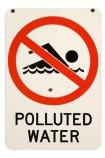 Australasian;Australia;Australian;lake;no-swimming-sign;no-swimming-signs;polluted-water-sign;polluted-water-signs;pollution;warning-sign;warning-signs;cutout