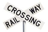 cross;crosses;level-crossing;level-crossings;N.Z.;New-Zealand;NZ;rail;rail-crossing;rail-crossings;railroad;railroads;railway;railway-crossing;railway-crossings;railways;sign;signage;signs;tracks;train;trains;transport;transportation;warning;warning-sign;warning-signs;x-cutout
