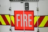 sign;signs;fire;fires;fire-truck;fire-trucks;fire-engine;fire-engines;fire-appliance;fire-appliances;firetruck;firetrucks;fireengine;fireengines;fireappliance;fireappliances;warning;fluorescent;door;doors;back;vehicle;vehicles;handle;handles;stripe;stripes;danger;bright;red;green;pink
