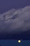 Black-Clouds;Central-Otago;cloud;clouds;dusk;evening;lunar;moon;Moonrise;moons;N.Z.;New-Zealand;night;night-time;night_time;NZ;Otago;S.I.;SI;sky;South-Island;storm-cloud;storm-clouds;twilight