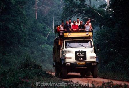 Overland Truck, Pan African Highway, D R Congo (Zaire