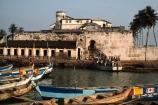 african;fishing;ocean;sea;atlantic;elmina;ghana;ghanain;west-africa;castle;castles;fort;forts;fortresses;slaving;slave-fort;historic;historical;boat;boats;fishing-boat;fishing-boats;traditional;travel;africa;african