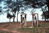 Derelict;dereliction;old;broken;Petrol-Pumps;gas-pumps;petrol;pump;gasoline;pumps;fuel;diesel;Livingstonia;Malawi;malawian;africa;african;Southern-Africa;run-down