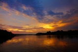 Africa;calm;dusk;evening;night;night_time;nightfall;placid;quiet;reflected;reflection;reflections;river;rivers;serene;smooth;Southern-Africa;still;sunset;sunsets;tranquil;twilight;V.F.;VF;Vic-Falls;Vic.-Falls;Victoria-Falls;water;Zambesi;Zambesi-River;Zambeze;Zambeze-River;Zambezi;Zambezi-River;Zambia;Zimbabwe