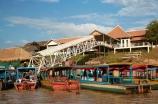 Asia;boat;boats;Cambodia;Chong-Khnies;Chong-Kneas;dock;docks;Indochina-Peninsula;jetties;jetty;Kampuchea;Kingdom-of-Cambodia;long-boat;long-boats;long-tail-boat;long-tailed-boat;long_tail-boat;long_tailed-boat;passenger-boat;passenger-boats;pier;piers;Port-of-Chong-Khneas;quay;quays;Siem-Reap;Siem-Reap-Province;Siem-Reap-River;Southeast-Asia;tour-boat;tour-boats;tourism;tourist-boat;tourist-boats;waterside;wharf;wharfes;wharves