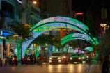 Asia;Asian;car;car-lights;cars;celebration;cities;city;colored-lights;coloured-lights;dark;District-1;District-One;downtown;dusk;evening;H.C.M.-City;H-Chí-Minh;HCM;HCM-City;headlights;Ho-Chi-Minh;Ho-Chi-Minh-City;light;lighting;lights;Nguyen-Hue;night;night-time;night_time;Saigon;South-East-Asia;Southeast-Asia;street;street-scene;street-scenes;streets;traffic;twilight;Vietnam;Vietnamese
