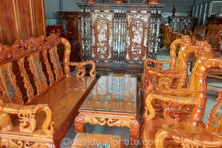 Almost Asian craft furniture think