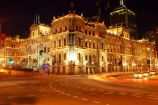 1885;arch;arches;architecture;australasia;Australia;australian;bet;betting;Brisbane;building;buildings;car;cars;casinos;colonial;entertainment;facade;facades;floodlighting;floodlit;gamble;gambling;game;gaming;historic;historical;holiday;holidays;illuminate;illuminated;intersection;intersections;italian-renaissance-style;light;lights;night;night-time;Queensland;tail-lights;tourism;traffic;traffic-lights;travel;Treasury-Casino;Treasury-Casino,-Brisbane,-Quee;vacation;vacations