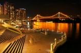 Australasia;Australia;Australian;Brisbane;Brisbane-River;Brisbane-Waterfront;calm;dark;evening;light;lights;night;night-time;night_time;Petrie-Bight;placid;Qld;Queensland;quiet;reflection;reflections;river;rivers;riverside;Riverside-Promenade;serene;smooth;still;Story-Bridge;tranquil;water;waterfront