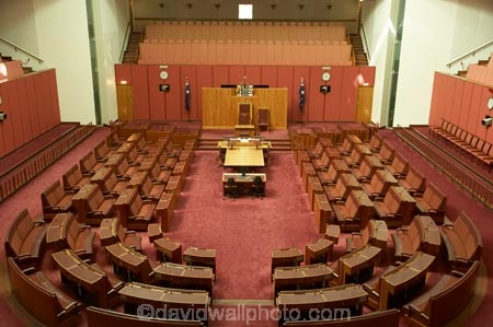 Senate Chamber, Parliament House, Capital Hill, Canberra