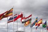 A.C.T.;ACT;Australia;Australian-Capital-Territory;blowing;Canberra;capital;capitals;flag;flag-pole;flag-poles;flag-post;flag-posts;flagpole;flagpoles;flagpost;flagposts;flags;flagstaff;wind;windy