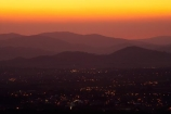 A.C.T.;ACT;Australia;Australian-Capital-Territory;Canberra;capital;capitals;dusk;evening;Mount-Ainslie;Mt-Ainslie;Mt.-Ainslie;nightfall;orange;sky;sunset;sunsets;twilight