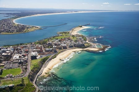 Newcastle Beach And Newcastle Harbour Newcastle New