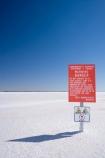 alkalii-flat;arid;Australasia;Australasian;Australia;Australian;Australian-Desert;Australian-Deserts;Australian-Outback;back-country;backcountry;basin;blue;bright;bright-white;danger;danger-sign;danger-signs;dazzle;dazzling;Desert;deserts;desolate;dry-lake;dry-lakes;endorheric;endorheric-basin;endorheric-basins;endorheric-lake;extreme;Firing-Range;flat;geography;glare;glary;hostile;lake;lake-bed;lake-beds;Lake-Hart;lakes;Outback;pan;pans;playa;playas;red;red-centre;remote;Rocket-Range;S.A.;SA;sabkha;saline;salt;salt-crust;salt-lake;salt-lakes;salt-pan;salt-pans;salt_pan;salt_pans;saltpan;saltpans;salty;sign;signs;South-Australia;Stuart-Highway;warning;warning-sign;warning-signs;white;Woomera-Prohibited-Area