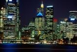 circular;quay;ferry;passenger;sydney;cove;harbor;harbors;harbours;commute;commuters;offices;CBD;C.B.D.;office;skyscraper;skyscrapers;light;lights;night;night_time;dark;city;cities
