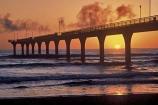 beach;beaches;color;colors;colour;colours;dawn;east;jetties;jetty;ocean;orange;pacific;piers;sea;wave;waves;wharf;wharves
