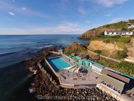 St Clair Hot Salt Water Pool Dunedin South Island New