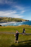 bunker;bunkers;Chisholm-Park-Golf-Course;Dunedin;fairway;fairways;flag;game;golf-course;golf-courses;golf-link;golf-links;golfer;Golfers;green;greens;hole;N.Z.;New-Zealand;NZ;ocean;Otago;pacific;put;putting;relax;S.I.;SI;South-Is;South-Island;sport;Sth-Is;Tomahawk-Beach;waves