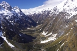 aerial;aerials;beautiful;beauty;fiordland-national-park;glacial;glacial-valley;hollyford-valley;majestic;middle-earth;milford-road;mountain;mountains;natural;nature;new-zealand;road;roading;roads;scene;scenic;snow;snowy;south-island;south-west;southland;te-wahipounamu-south_west-new;transport;transportation;upper-hollyford-valley;valleys