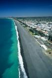 coast;coastal;coastline;shore;shoreline;beach;beaches;black-sand;sea;ocean;pacific;hawke-bay;waves;wave;aerials