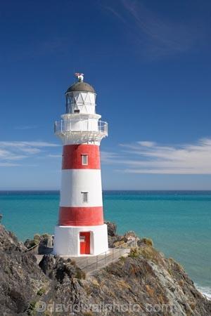 Historic Cape Palliser Lighthouse 1897 Wairarapa North