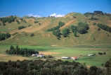 farm;rural;grass;agriculture;farming;farms;pasture;paddock;paddocks;field;fields;meadow;meadows;pastures;north-island;farmland;lush;green;verdant;fertile;Mangaweka;Manawatu;station;sheep