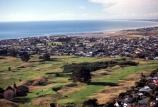 ocean;sea;tasman;Paraparaumu;Kapiti-Coast;North-Island;aerial;aerials;golf-course;golf;golfing;greens;fairways;fairway