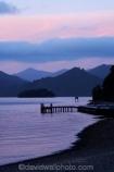 Dusk;harbor;harbors;harbour;harbours;jetties;jetty;lavendar;lilac;Marlborough;Marlborough-Sounds;mauve;New-Zealand;Picton;Picton-Harbour;pier;piers;pink;purple;Queen-Charlotte-Sound;South-Island;twilight;violet;waterside;wharf;wharfes;wharves