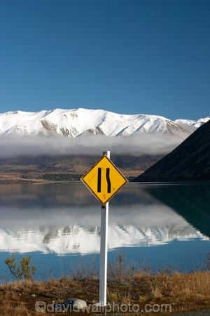 waitaki-district;mackenzie-country;adventure;adventurous;autumn;ben-ohau;calm;calmness;clean;clear;cloud;Daytime;Exterior;high-country;idyllic;lake;lake-ohau;lakes;Leisure;Look;Looking;mackenzie;mountain;Mountains;Nature;new-zealand;ohau;ohau-range;Outdoor;Outdoors;Outside;Peaceful;Peacefulness;pure;Quiet;Quietness;Recreation;Reflection;Reflections;Scenic;Scenics;silence;south-island;tranquil;tranquility;transparent;waitaki;water;clouds;weather;sign;signs;road-sign;road-signs;road-narrows;narrow-road;yellow