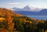autumnal;beauty;color;colors;colours;forest;highest;lake;lakes;main-divide;mount-cook;mountain;mountains;natural;orange;peak;scenary;scenic;slope;snow;snow-covered;snow_covered;southern-alps;spectacular;tourism;trees