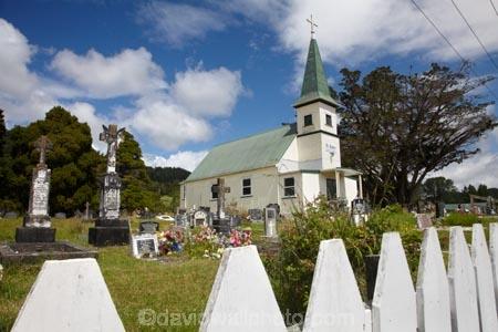St Agnes Catholic Church, Kaihu, Northland, North Island