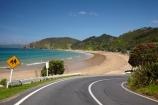 Bay-of-Is;Bay-of-Islands;beach;beaches;bend;bends;centre-line;centre-lines;centre_line;centre_lines;centreline;centrelines;child;children;Children-warning-sign;Children-warning-signs;coast;coastal;coastline;corner;corners;curve;curves;hot;Kororareka;Long-Beach;N.I.;N.Z.;New-Zealand;NI;North-Is;North-Is.;North-Island;Northland;NZ;ocean;Oneroa-Bay;road;road-sign;road-signs;roads;Russell;sand;sandy;shore;shoreline;summer;transport;transportation;travel;traveling;travelling;warning;warning-sign;warning-signs;yellow