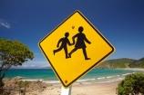 Bay-of-Is;Bay-of-Islands;beach;beaches;child;children;Children-warning-sign;Children-warning-signs;coast;coastal;coastline;hot;Kororareka;Long-Beach;N.I.;N.Z.;New-Zealand;NI;North-Is;North-Is.;North-Island;Northland;NZ;ocean;Oneroa-Bay;road-sign;road-signs;Russell;sand;sandy;shore;shoreline;summer;warning;warning-sign;warning-signs;yellow