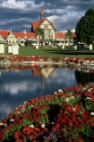flower;flowers;garden;red;pink;white;pond;reflection;tourism;historic;historical;museum;art;gallery;history;reflections
