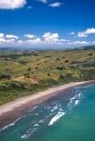 aerials;bays;beach;beaches;coastline;houses;ocean;sea;seashore;seaside;shore;shoreline;surf;tidal;tide;water;waves