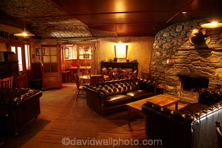 Interior Of Historic Cardrona Hotel Near Wanaka South