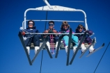 family;mother;mothers;children;son;daughter;ski;skiers;skier;skiing;chair-lift;holiday;skis