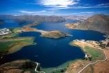 mountain;mountains;lake;lakes;aerial;aerials;bay;bays