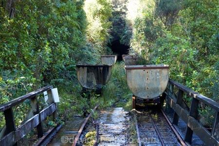 Coal Trolleys at Abandoned Coal Mine, Millerton Incline, near