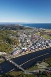 aerial;aerial-photo;aerial-photograph;aerial-photographs;aerial-photography;aerial-photos;aerial-view;aerial-views;aerials;bridge;bridges;Cobden-Bridge;Grey-River;Greymouth;Mawheranui;N.Z.;New-Zealand;NZ;river;rivers;S.I.;SI;South-Island;West-Coast;Westland