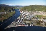 aerial;aerial-photo;aerial-photograph;aerial-photographs;aerial-photography;aerial-photos;aerial-view;aerial-views;aerials;Cobden-Hill;Cobden-Island;Erua-Moana-Lagoon;Grey-River;Greymouth;Mawheranui;N.Z.;New-Zealand;NZ;Peter-Ridge;port;ports;racecourse;Rapahoe-Range;river;rivers;S.I.;SI;South-Island;Twelve-Apostles-Range;Victoria-Park;waterside;West-Coast;Westland;wharf;wharfes;wharves