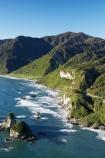 12-Mile-Bluff;aerial;aerial-photo;aerial-photograph;aerial-photographs;aerial-photography;aerial-photos;aerial-view;aerial-views;aerials;beach;beaches;bluff;bluffs;cliff;cliffs;coast;coastal;coastline;coastlines;coasts;Greigs;Motukiekie-Rocks;N.Z.;New-Zealand;NZ;ocean;oceans;S.I.;sand;sandy;sea;seas;shore;shoreline;shorelines;shores;SI;South-Island;State-Highway-6;State-Highway-Six;steep;surf;Tasman-Sea;Twelve-Mile-Bluff;water;wave;waves;West-Coast;Westland