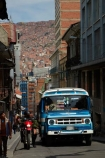 bike;bikes;Bolivia;Bolivian-Bus;bus;buses;capital;Capital-of-Bolivia;Chuqi-Yapu;cities;city;La-Paz;Latin-America;micros;motorbike;motorbikes;motorbus;motorbuses;motorcycle;motorcycles;narrow-street;narrow-streets;Nuestra-Señora-de-La-Paz;omnibus;omnibuses;passenger-bus;passenger-buses;passenger-transport;public-transport;public-transportation;South-America;steep-street;steep-streets;Sth-America;street-scene;street-scenes;The-Americas;traditional-bus;transportation