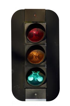 advance;bicycle;bike;cycle;lane;forward;go;green;New-Zealand;NZ;South-Island;light;lights;signal;traffic;signals;cutout;cut;out