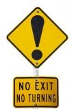 Dunedin;hill;New-Zealand;NZ;road;sign;South-Island;steep;street;warning;cutout;cut;out