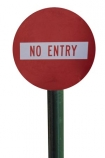N.Z.;New-Zealand;no;entry;NZ;road;sign;signpost;Street;traffic;warning;cutout;cut;out