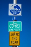 America;bike-path;Bike-route;CA;California;L.A.;LA;Los-Angeles;Los-Angeles-County;Santa-Monica;share-the-road;sign;signs;States;tsunami;Tsunami-evacuation;Tsunami-Evacuation-Route;U.S.A;United-States;United-States-of-America;USA;West-Coast;West-United-States;West-US;West-USA;Western-United-States;Western-US;Western-USA